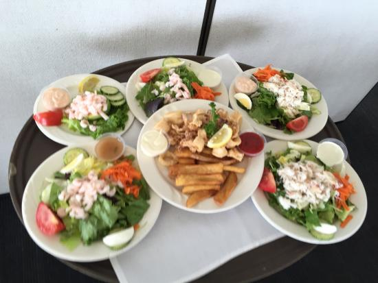 The Tides Wharf Restaurant: Our lunch