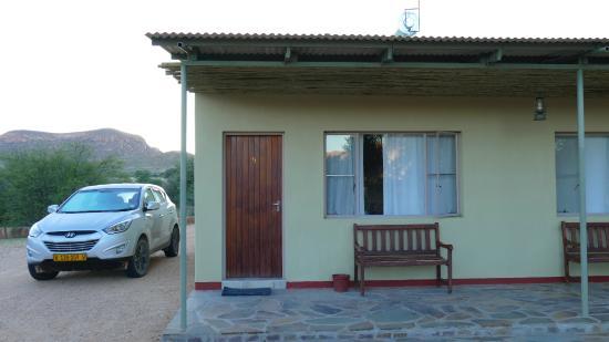 Hammerstein Lodge: Zimmer