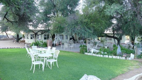 Hammerstein Lodge: Garten