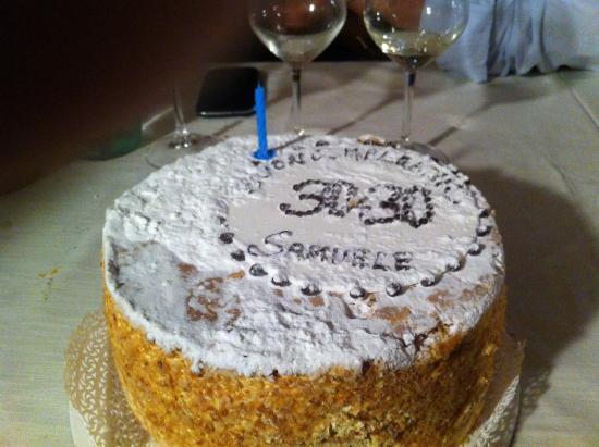 Pasticceria Cavalletti: La mia torta del 60mo compleanno