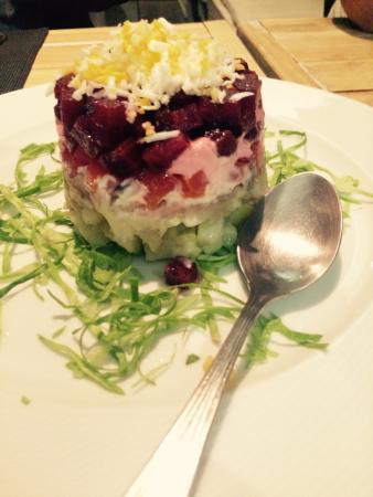 Restaurante Stanislav: Salada Schuba