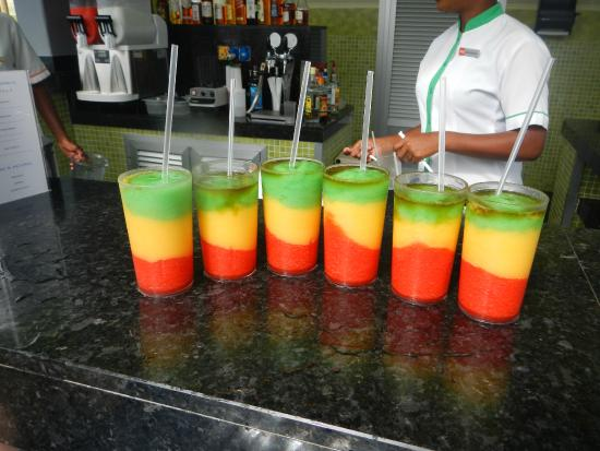 Bob Marley Drinks - Picture of Hotel Riu Palace Jamaica ...