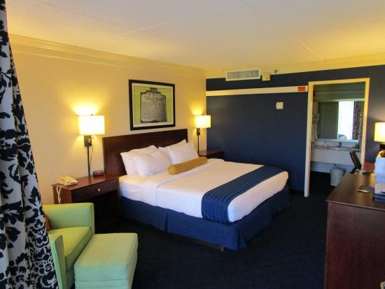 Cavalier Inn at the University of Virginia : Standard King Room