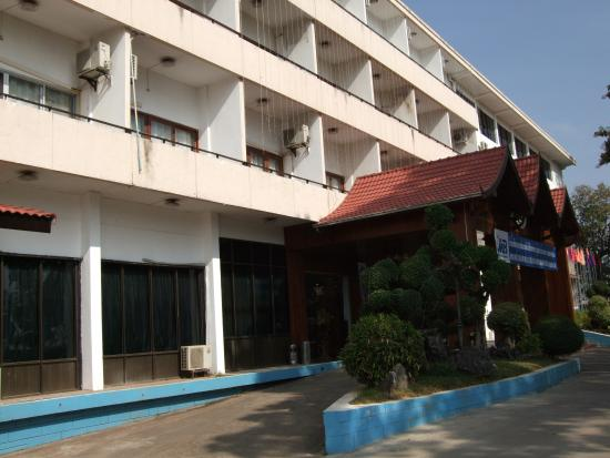 Lane Xang Hotel : 外観