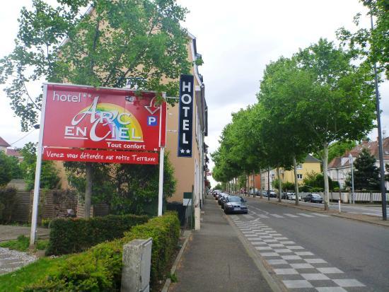Hotel Arc en Ciel: Entrada do Hotel