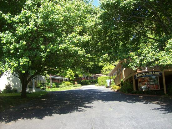 Mountain Aire Cottages & Inn: Entrance to The Mountain Aire!