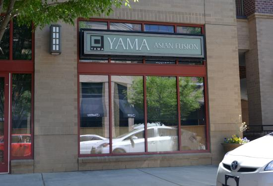 Yama Asian Fusion: From the Earth Fare Side