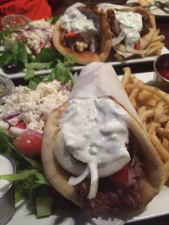 The Greek Joint: The real deal Greek food. Thank you to my server Freddie