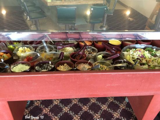 Oxbow Diner: Oxbow salad bar.