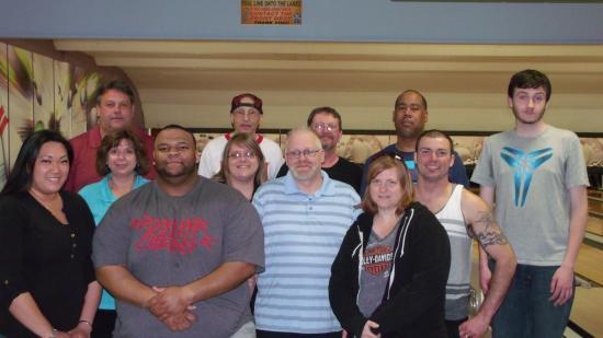 Comfort Inn Trolley Square : Rutland bowling crew