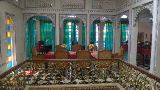 Shree Jagdish Mahal Heritage Hotel (Nagarseti Ri Haveli): Restaurant