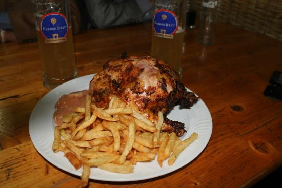 Beer Garden Inn: Full Roasted Chicken at The Beer Garden
