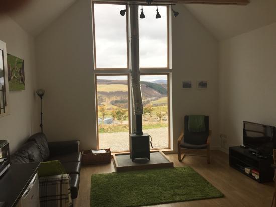 Balneden Steading: Spacious living room