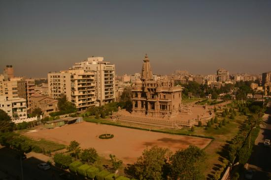 Baron Hotel Heliopolis Cairo: View from our room