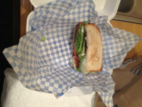 French Corner Bakery: THE BLT - excellent!
