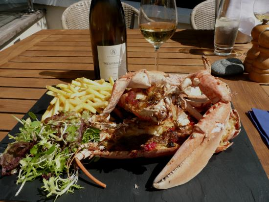 Fermain Valley Hotel: Un homard fabuleux