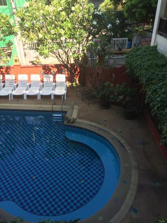 Chiang Mai Thai House : Pool from room