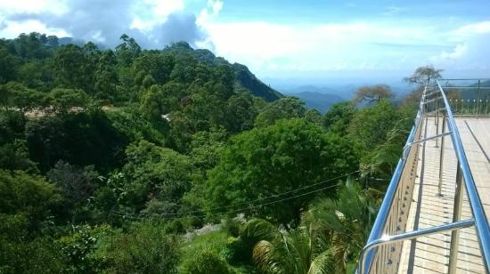 Rawana Holiday Resort: The view from the terrace