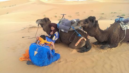 Merzouga, Marruecos: Desert with Hakim