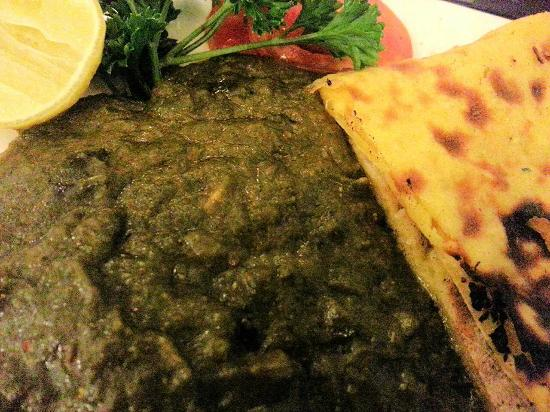 Golden Punjab: Makki di Roti and Sarson da Saag