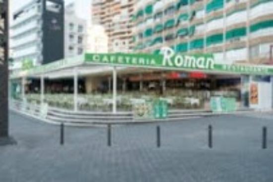 ROMAN. Es Cafeteria y Restaurante