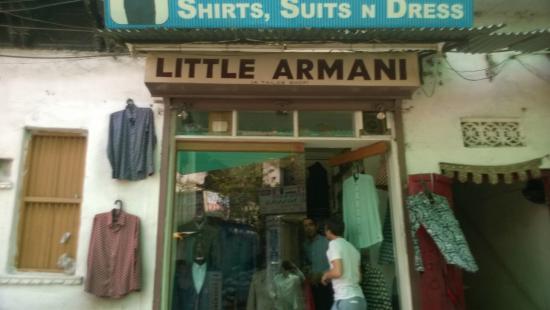 Little Armani: Frontage