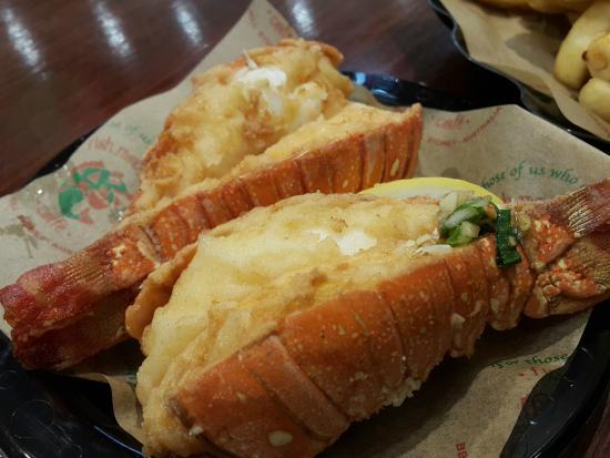 Fish Market Cafe: lobster's tails