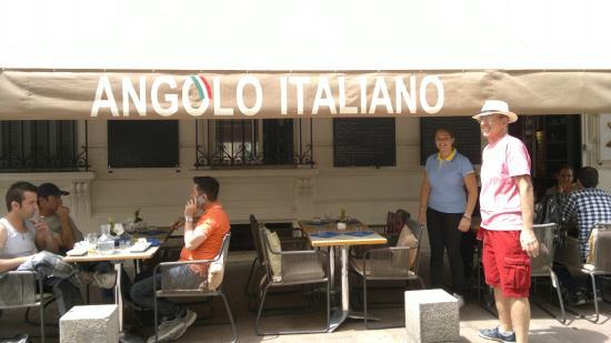 Ristorante Angolo Italiano : VALE A PENA CONFERIR