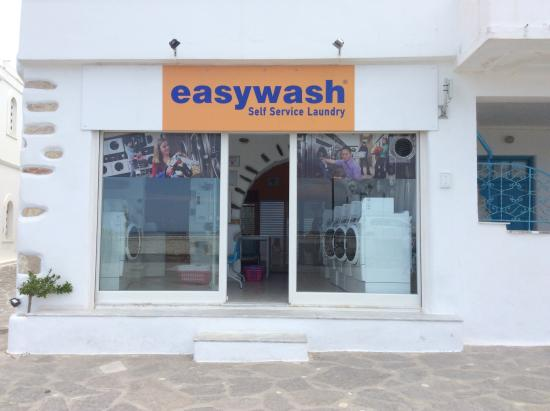 Self Service Laundry ~ Easywash lf service laundry picture of parikia town