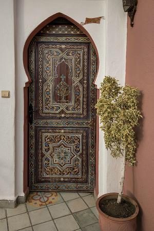 Dar Meziana: Door to our room