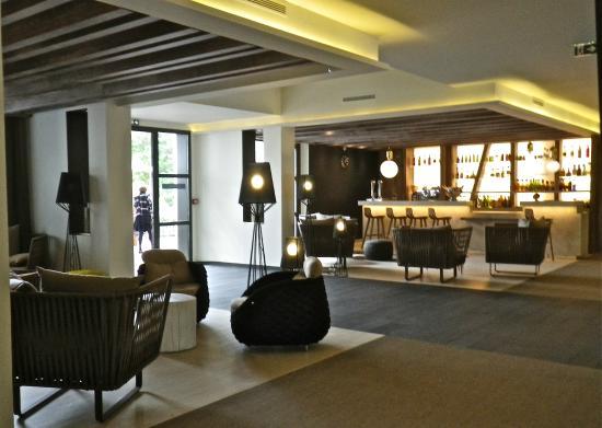 Hotel les bains d'Arguin : Bar et espace salon