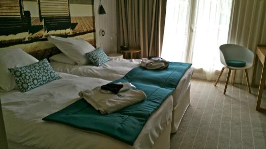 """Hotel les bains d'Arguin : Notre chambre """"Premium"""""""