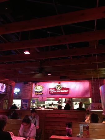 Texas Roadhouse: Restaurant area