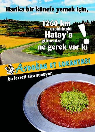 Lepseki, Turki: AYDOĞAN ET LOKANTASI REKLAM