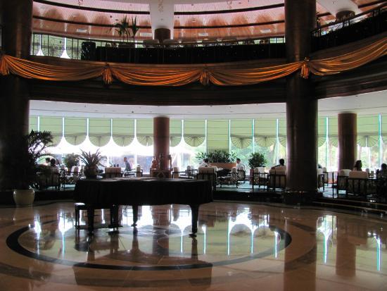 Sanya Pearl River Garden Hotel: холл
