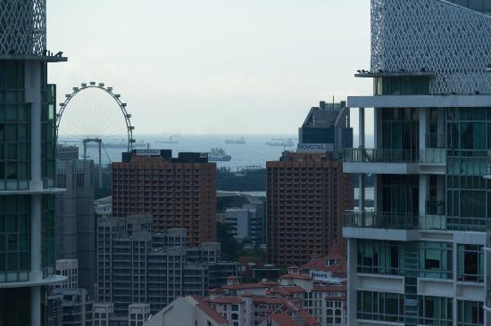 Great World Serviced Apartments View From Balcony