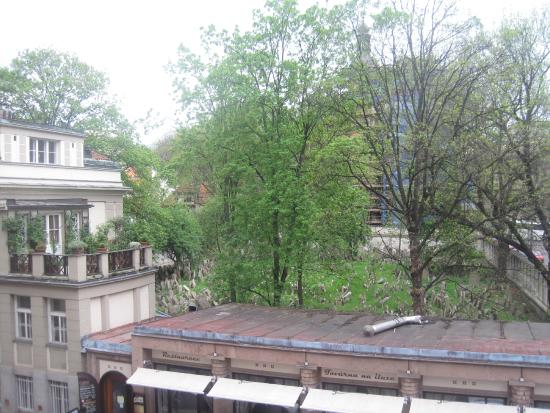 Residence Brehova - Prague City Apartments: View from the Balcony of the Jewish Cemetry