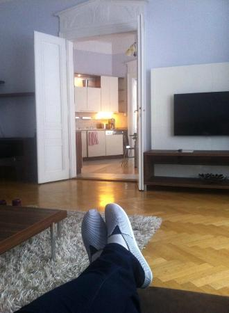 Residence Brehova - Prague City Apartments: Lounge Area