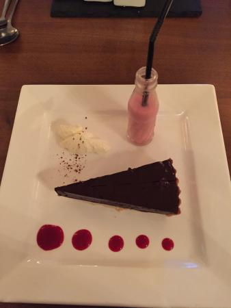 Amazing - especially the raspberry smoothie.