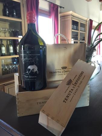 Antico Casale L'Impostino: Il vino