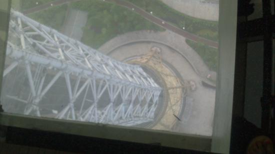 Zhuzhou Radio And Television Tower: Glass floor