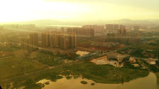 Zhuzhou Radio And Television Tower: View from the top