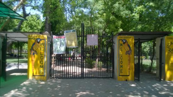 Udaipur Zoo: Gate