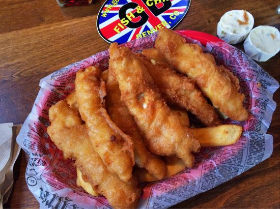 Genuine Fish And Chips In South Denver Review Of Gb Fish