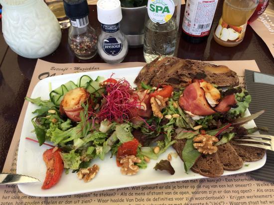 Eetcafe old dutch: salade au miel