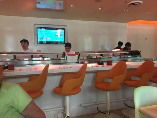 Pod Sushi Bar And Odd Anime Thing Playing