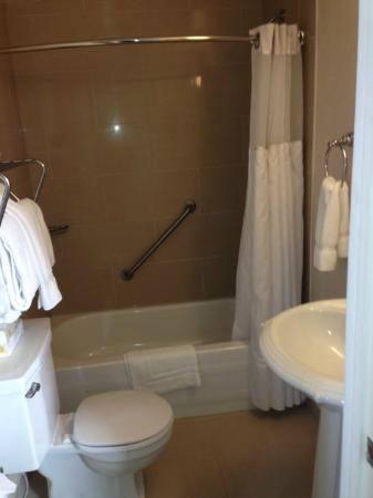 Glynmill Inn: Bathroom a bit cramped but serviceable