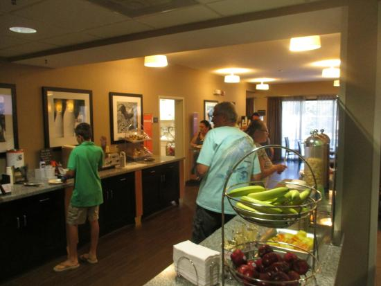 Hampton Inn Jupiter/Juno Beach: Breakfast Dining Room