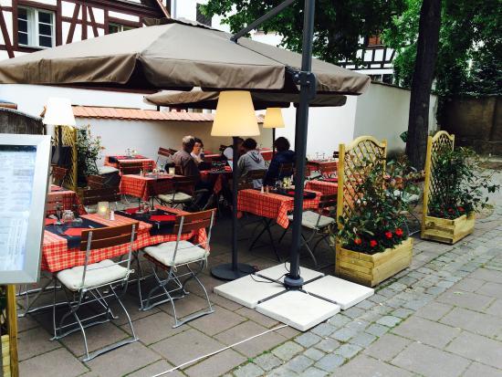 Terrasse Restaurant Strasbourg : Belle terrasse tranquille et ombrag u00e9 u00e0 l arri u00e8re du