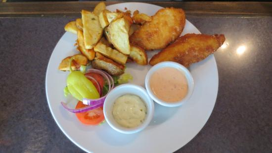 GateKeeper: Pub style fish and chips